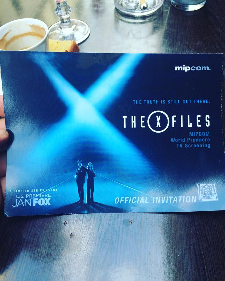 invitation mipcom xfiles