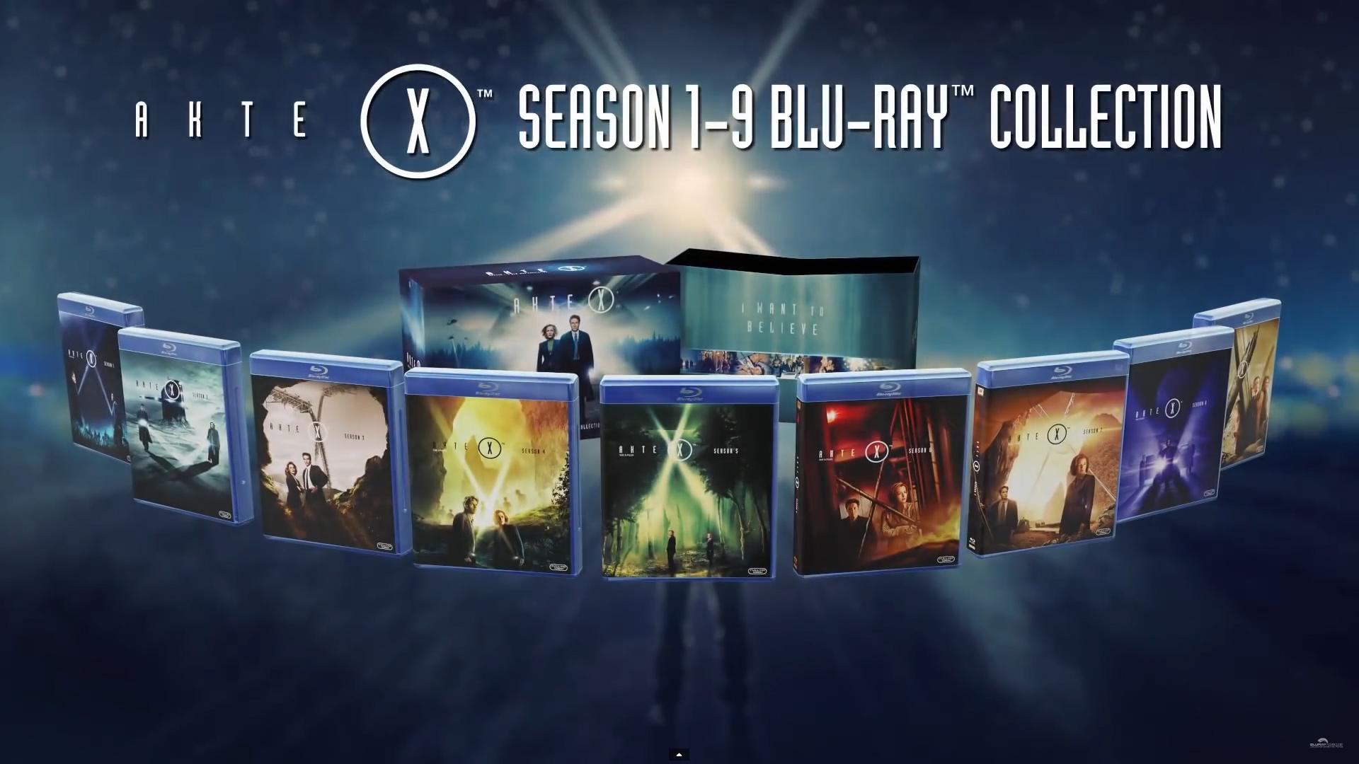 x-files blu-ray