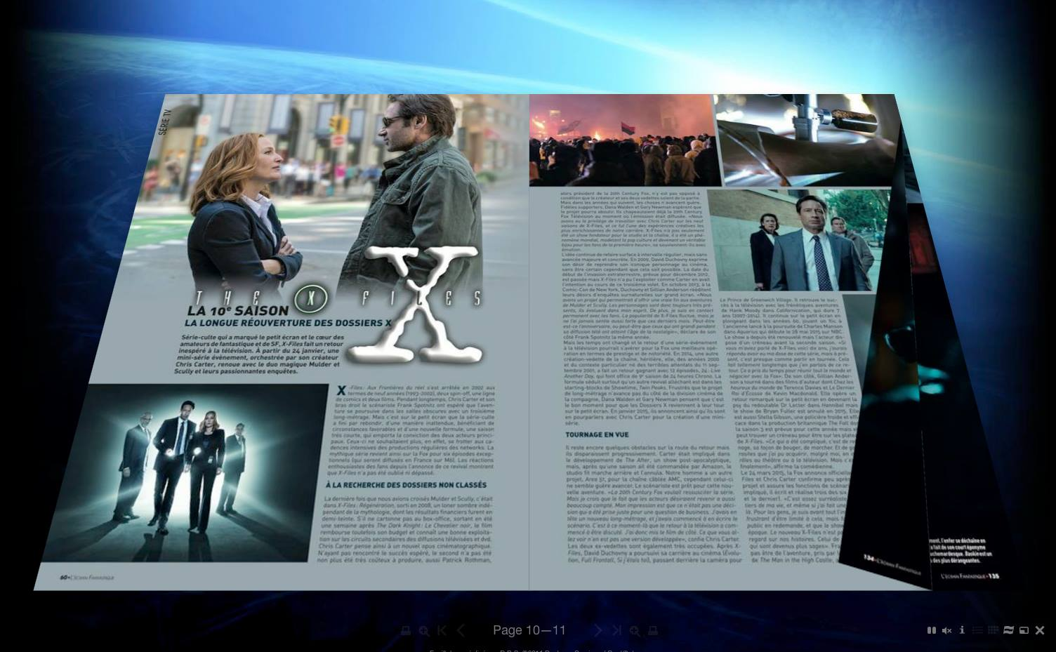 écran fantastique x-files