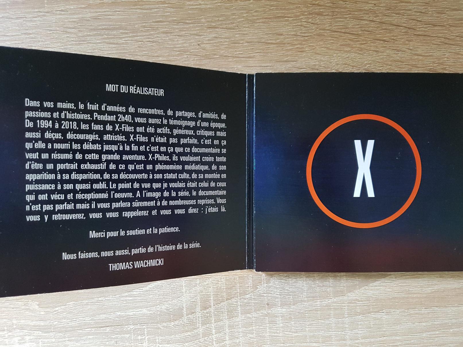 x-files - Détails du DVD X-Philes, Ils Voulaient Croire, premier documentaire Smallthings xphiles dvd documentaire 3 rotated e1588854909244
